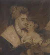 Lady Dashwood and Her Son, ca. 1785. Creator: Charles Howard Hodges.