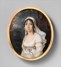 Portrait of a Woman, ca. 1800. Creator: Étienne-Charles Leguay.