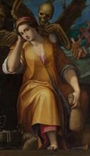 Allegory of Avarice. Creator: Jacopo Ligozzi.