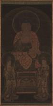Amitabha triad, ca. 13th century. Creator: Unknown.