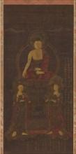 Shakyamuni triad, 1565. Creator: Unknown.