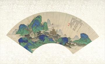 Palaces of the Immortals, dated 1753. Creator: Xu Yang.