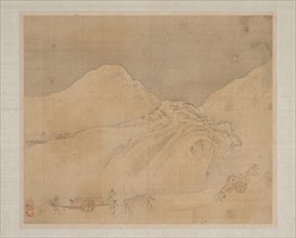 Landscapes, dated 1652. Creator: Ye Xin (Chinese, active ca. 1640-1673).