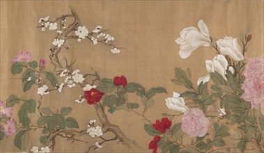 One Hundred Flowers, 18th century. Creator: Unknown.