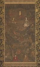 Shaka Triad and the Sixteen Rakan, 14th century. Creator: Unknown.