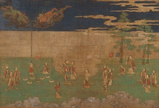 Life of the Buddha: The Birth of the Buddha, early 15th century. Creator: Unknown.