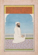 A Holy Man Seated on a Terrace, ca. 1850. Creator: Unknown.