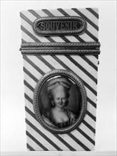 Souvenir with portrait of a woman, 1775-85. Creator: Unknown.