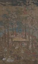 Death of the Historical Buddha (Nehan-zu), 15th century. Creator: Unknown.