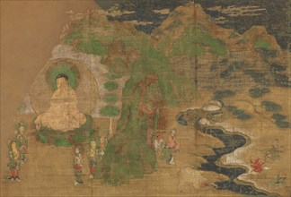 Life of the Buddha: Subjugation of Demons, early 15th century. Creator: Unknown.