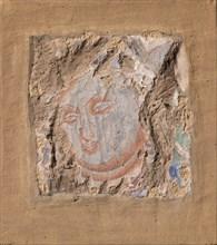 Head of a Buddha, ca. 6th-7th century. Creator: Unknown.