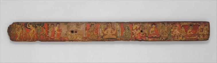 Book Cover from a Manuscript of the Ashtasahasrika Prajnaparamita Sutra, 10th-11th century. Creator: Unknown.