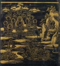 Devadatta, Chapter 12 of the Lotus Sutra (Hoke-kyo, Daibadatta-bon) , 12th century. Creator: Unknown.