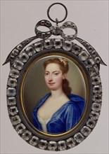 Mrs. Vanderbank, ca. 1730. Creator: Christian Friedrich Zincke.