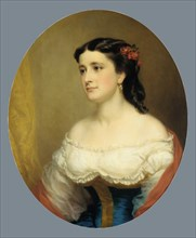 Mrs. William Loring Andrews, 1861-63. Creator: George Augustus Baker.