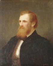 John Quincy Adams Ward, 1863. Creator: Henry Augustus Loop.