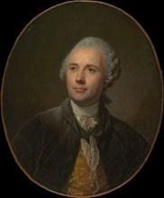 Jean Jacques Caffiéri (1725-1792), ca. 1765. Creator: Jean-Baptiste Greuze.