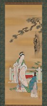 Queen Mother of the West, first half of the 19th century. Creator: Kano Osanobu.
