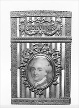 Souvenir with portrait of Stanislaus II, King of Poland, ca. 1770-80. Creator: Joseph Kosinski.