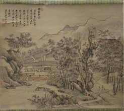 Immortals' Studio by Stream and Bamboo, 18th century or later. Creator: Unknown.