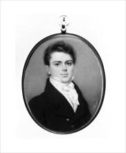 Portrait of a Gentleman, ca. 1820. Creator: Nathaniel Rogers.