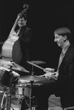 Steve Brown, Malcolm Creese, Brecon Jazz Festival, Powys, Wales, 2000. Creator: Brian Foskett.