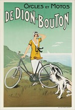 Cycles et Motos de Dion-Bouton, 1920s. Creator: Fournery, Félix