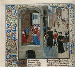 Coronation of Charles VI of France, ca 1470-1475. Creator: Anonymous.