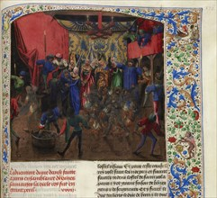 Bal des Ardents, ca 1470-1475. Creator: Anonymous.