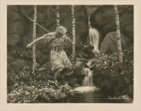 Scene from the film Die Nibelungen: Siegfried by Fritz Lang, 1924. Creator: Anonymous.