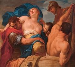 The Rape of Helen, ca. 1695. Creator: Molinari, Antonio