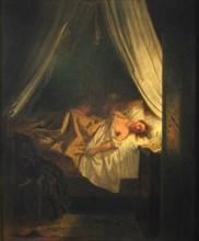 The Vampire, 1852. Creator: Delacroix, Eugène