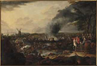 The Battle of Ekeren on June 30, 1703, Between 1703 and 1716. Creator: Broers, Jasper