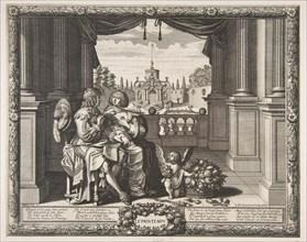 Spring, 1635-37. Creator: Abraham Bosse.
