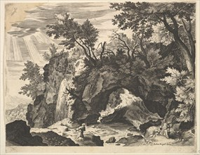 Rocky Landscape with the Stigmatization of St. Francis