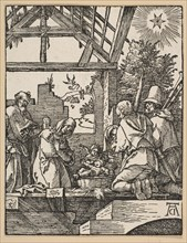 The Nativity, from The Little Passion.n.d. Creator: Albrecht Durer.
