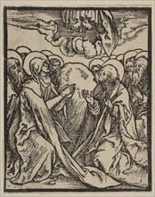 The Ascension.n.d. Creator: Albrecht Durer.