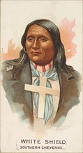White Shield, Southern Cheyenne, from the American Indian Chiefs series