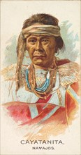 Cayatanita, Navajos, from the American Indian Chiefs series