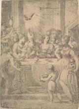 The presentation of Christ in the temple, ca. 1543-46. Creator: Andrea Schiavone.