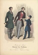 892 from Modes de Paris, Journal des Tailleurs, 1848. Creator: Unknown.