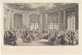 The Concert, 1774. Creator: Antoine Jean Duclos.