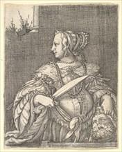Judith, ca. 1526. Creator: Barthel Beham.