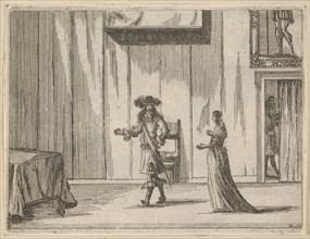 Francesco I d'Este Speaks About his Victories with an Honest Comportment, from L'Idea di u..., 1659. Creator: Bartolomeo Fenice.