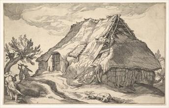 Landscape with Farmhouse, 1613. Creator: Boetius Adams Bolswert.