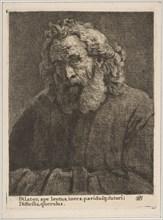 Old Man with a Long Beard, 1761. Creator: William Baillie.