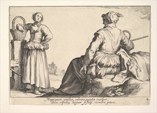Pleasures of Occupation. Creator: Cornelis Bloemaert.
