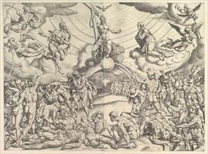 The Last Judgement, ca. 1548-50. Creator: Cornelis Bos.