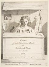 The Cobbler, 1737. Creator: Caylus, Anne-Claude-Philippe de.