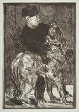 Boy and Dog, 1862. Creator: Edouard Manet.